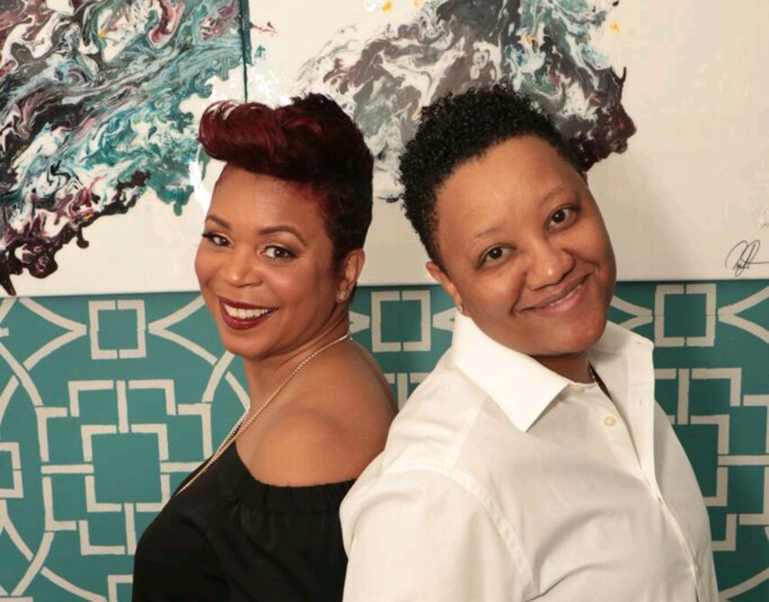 Monique Stokes and Latoya Stuckey, Owners of Slique Hair Studio in Harlem