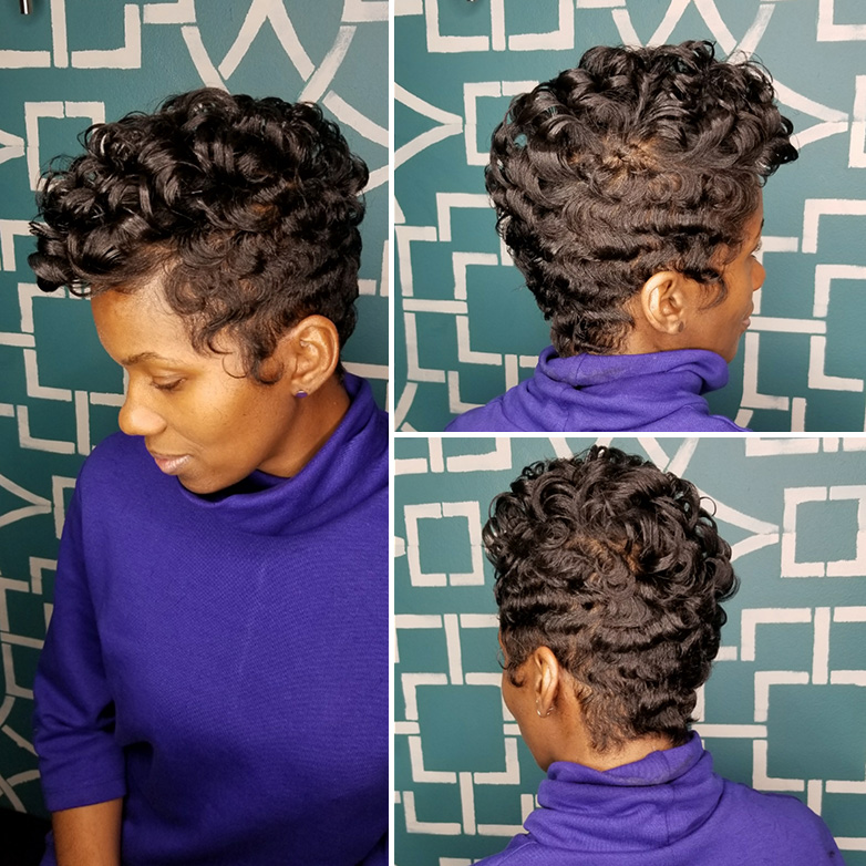 Slique Hair Studio - Client 1