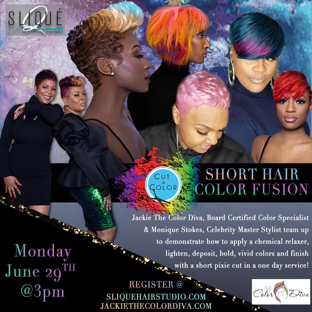 Short Hair Color Fusion Educational Event